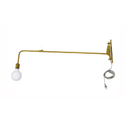 Industrial Yellow Wall Light